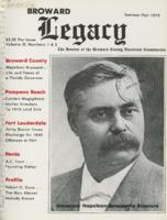 Broward Legacy, Volume 3 (Summer/Fall 1979), Number 1 and 2