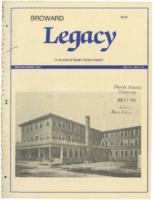 Broward Legacy, Volume 12 (Winter/Spring 1989), Number 1 and 2