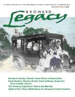 Broward Legacy, Volume 32 (2012), Number 1