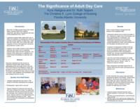The Significance of Adult Day Care