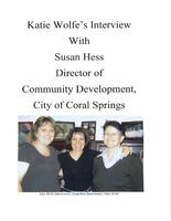 Interview with Susan Hess – ca. 2008
