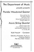 Florida Woodwind Quintet and the Azure String Quartet - November 2007