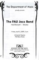 FAU Jazz Band - April 2009