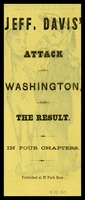 Jefferson Davis' attack on Washington and the Result in Four Chapters