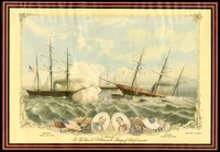 The Fight Between The C.S.S. Alabama and The U.S.S. Kearsarge, 1864
