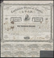 Confederate States of America Loan No. 6277, February 20, 1865