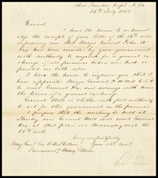 To George McCllelan from Robert E. Lee, 1862