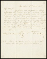 To Alexander H.H. Stuart from Judah Benjamin, 1856