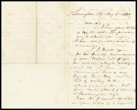 From John C. Breckenridge, 1860