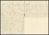 Partial Letter from Stonewall Jackson's Widow, 1863