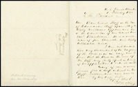To President Buchanan from Stephen Mallory, 1860