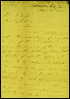 To Robert E. Lee from Ulysses. S. Grant, 1865