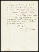 Henry W. Moulton, in Boise City, Idaho, to Mrs. [Elizabeth] Clarke, in D.C., 11-2-1869