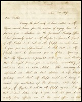 Willie [Will Clarke], in D.C., to his father, William, in N.Y.