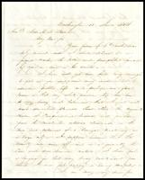 To Alex H.H. Stuart from Judah P. Benjamin, 1854