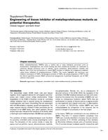 Engineering of tissue inhibitor of metalloproteinases mutants as potential therapeutics