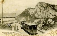 Chenin de fer Glion-Maye Sation, Switzerland
