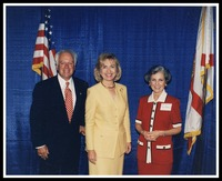 Dr. and Mrs. Catanese with Hillary Clinton, 1992