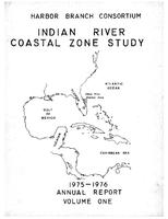 Indian River study annual report 1975-1976 volume 1