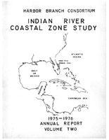 Indian River study annual report 1975-1976 volume 2