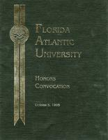 Honors Convocation 1995
