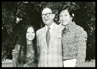 Williams with Students, 1975