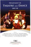 Fall 2007 Dances We Dance Program