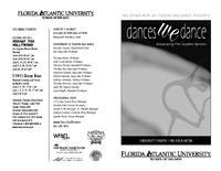 Spring 2011 Dances We Dance Program