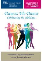 Fall 2011 Dances We Dance Program