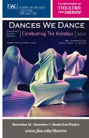 Fall 2012 Dances We Dance Program