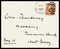 To Lida Thackeray from Mahone, 1887