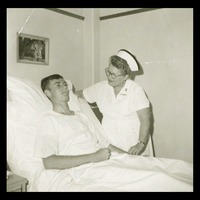 FAU Nurse and Student, 1967