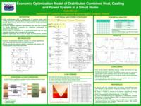 Economic Optimization Model of Distributed Combined Heat, Cooling and Power System in a Smart Home