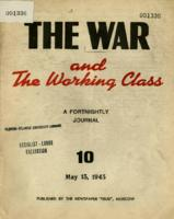 The War and the Working Class: 10