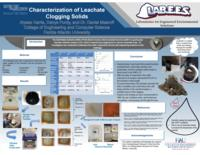 Characterization of Leachate Clogging Solids