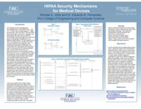 HIPAA Security Mechanisms for Medical Devices