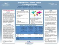 International Court of Justice And Regional Bias