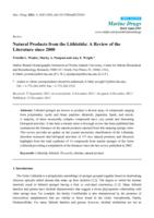 Natural Products from the Lithistida: A Review of the Literature since 2000