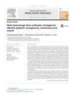 Ebola hemorrhagic fever outbreaks: strategies for effective epidemic management, containment and control