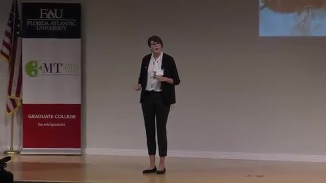 FAU 2016 3MT® Three Minute Thesis Championship Winner – Mickelene Hoggard