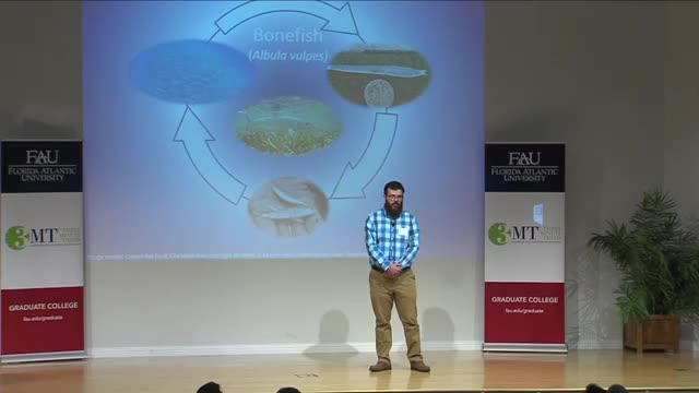 FAU 2017 3MT® Three Minute Thesis Championship - Bob Halstead