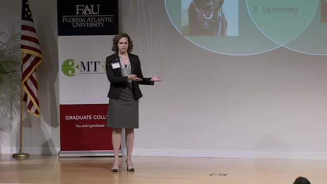 FAU 2017 3MT® Three Minute Thesis Championship - Emily Stark