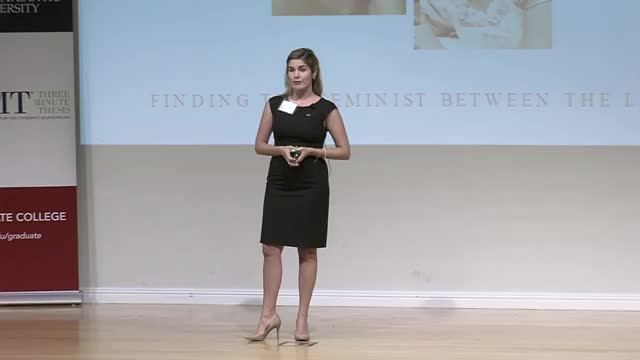 FAU 2017 3MT® Three Minute Thesis Championship - Gabriela Tortoledo