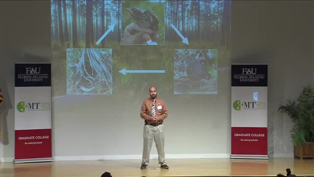 FAU 2017 3MT® Three Minute Thesis Championship - Joseph Niederhauser