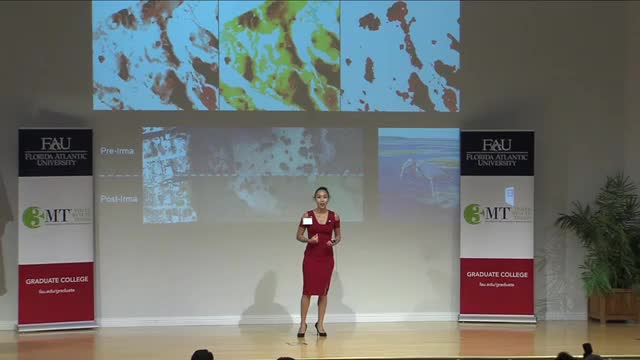 FAU 2017 3MT® Three Minute Thesis Championship - Marisa Martinez