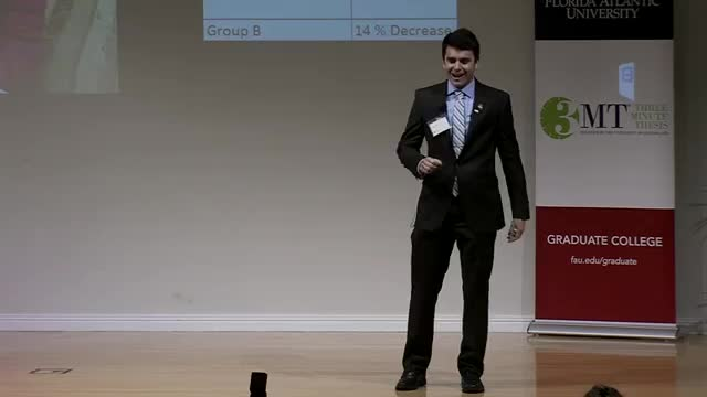 FAU 2017 3MT® Three Minute Thesis Championship - Mikhail Guseynov