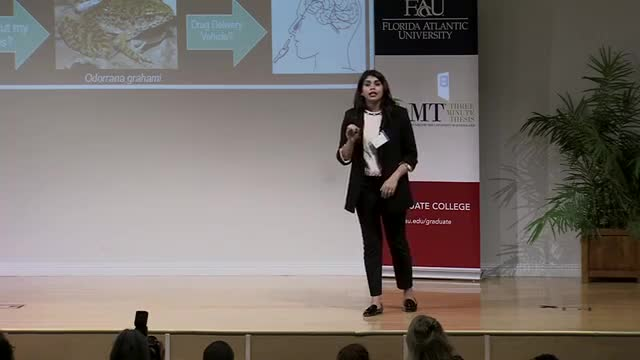 FAU 2017 3MT® Three Minute Thesis Championship - Nandini Sigh