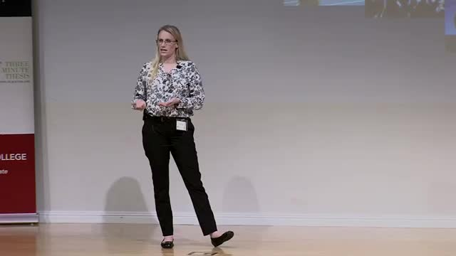 FAU 2017 3MT® Three Minute Thesis Championship - Nicole Reid