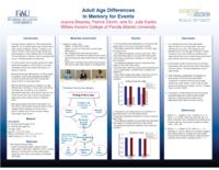 Adult Age Differences in Event Memory for Events