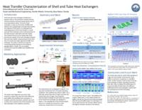 Heat Transfer Characterization of Shell and Tube Heat Exchangers
